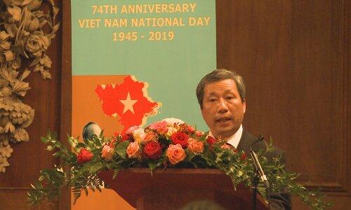 Kỷ niệm Quốc khánh Việt Nam lần thứ 74 tại Vương quốc Anh