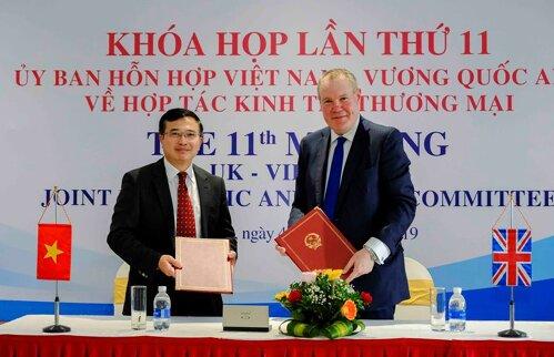 Khóa họp lần thứ 11 Ủy ban Hỗn hợp về hợp tác Kinh tế và Thương mại Việt Nam – Vương quốc Anh (JETCO11)