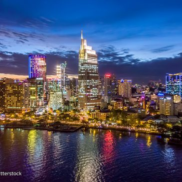 Ho Chi Minh city (formaly known as Saigon) economic heart of the nation